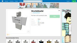 World2build - Roblox