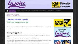 Inspire Schools Green Travel Data - Inspire Schools - KM Charity Team