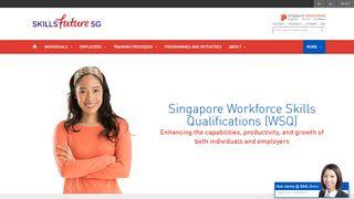 WSQ Electronic Certificates (e-Certs) - WSG