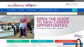 Homepage - SSG/WSG