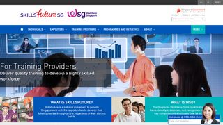 For Training Providers - WSG