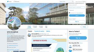 WTO ECAMPUS (@WTOECampus) | Twitter