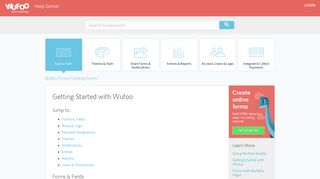Getting Started with Wufoo - Wufoo Help Center