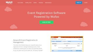 Event Registrations | Wufoo