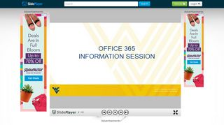 WEST VIRGINIA UNIVERSITY Office of Information Technology ...