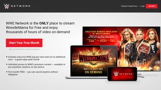 Network up wwe sign Get WWE