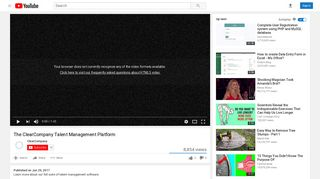 The ClearCompany Talent Management Platform - YouTube