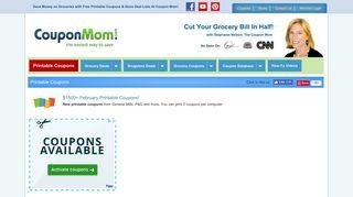 Printable Coupons - Free Printable Grocery Coupons ... - Coupon Mom
