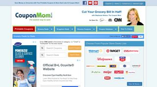 Coupons & Deals Lists for 60 Stores - Coupon Mom