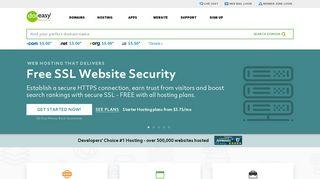 Web Hosting & Domain Names - Doteasy.com
