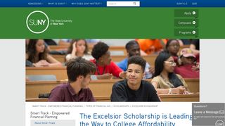 Excelsior Scholarship - SUNY
