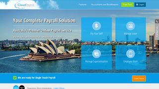 CloudPayroll® | Payroll Service Australia