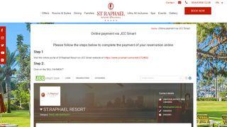 Online Payment via JCC Smart - St. Raphael Resort