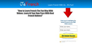 JeFrench: How To Learn French The Fun Way With Videos