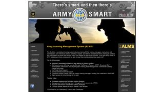 Army Learning Management System - Army Distributed Learning System
