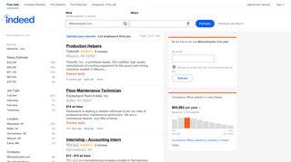 Milwaukeejobs Com Jobs, Employment | Indeed.com