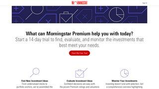 Premium Membership   Morningstar