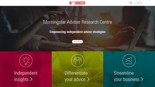 Morningstar Adviser Research Centre