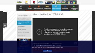 Info about the Pokémon TCG Online | Pokemon.com