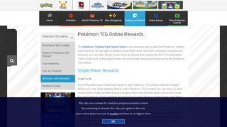Pokémon TCG Online Rewards | Pokemon.com