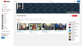 PowerGeometry - YouTube