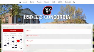 Concordia Public Schools, USD 333 - Student Links