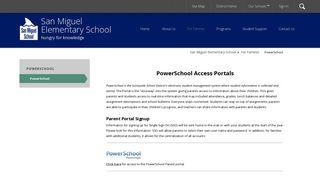 PowerSchool / PowerSchool - Sunnyvale School District