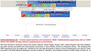 RMP INFOTEC - A Home Based Business