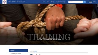 Training - Boy Scouts of America
