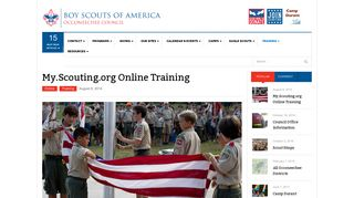 My.Scouting.org Online Training | Boy Scouts of America
