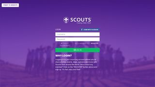Log in | World Scouting