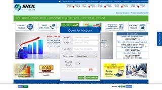 SHCIL Services Ltd (SSL) - SEBI Registered Corporate Stock Broker