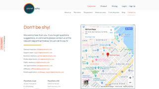 Invoicing - Billing | PlanetSoho | Contact Us