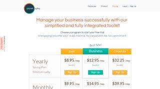 Invoicing - Billing | PlanetSoho | Pricing