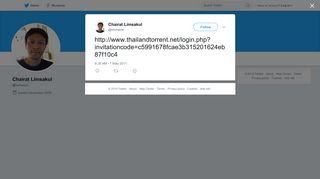 Chairat Limsakul on Twitter:
