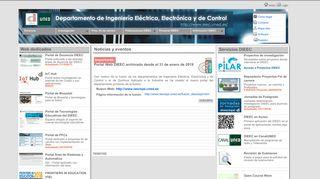 DIEEC -Departamento de Ingeniería Eléctrica, Electrónica y ... - UNED