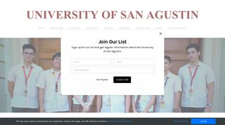 Student Portal - University of San Agustin