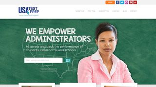 State-Specific EOC and Common Core Practice Tests - USATestprep