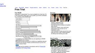 Free Trial | WGSN