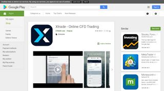 Xtrade - Online CFD Trading - Apps on Google Play