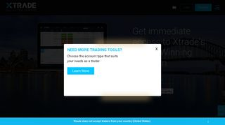 Online Forex Trading and CFD Trading - Xtrade