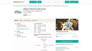 WyHy Federal Credit Union - 1715 Stillwater Ave (Cheyenne, WY)