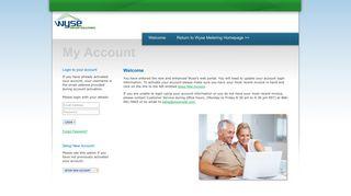 Wyse Metering Solutions : Web Portal