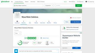 Wyse Meter Solutions Reviews | Glassdoor