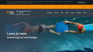 Swimming lessons | Elmbridge Xcel Leisure Complex |Walton on ...