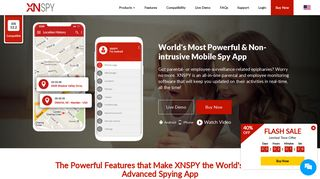 Cell Phone Spy - Monitoring Software, Mobile Spy App by XNSPY