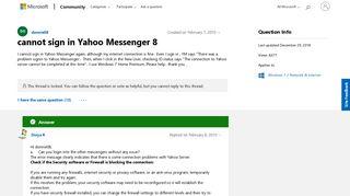 Sign yahoo! in messenger Yahoo! Messenger