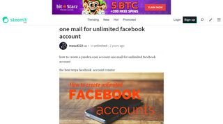 how to create a yandex.com account one mail for unlimited facebook ...