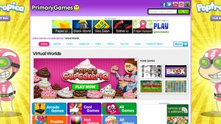 Virtual Worlds - PrimaryGames - Play Free Online Games