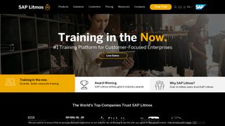 Litmos: Learning Management System (LMS) | eLearning Software